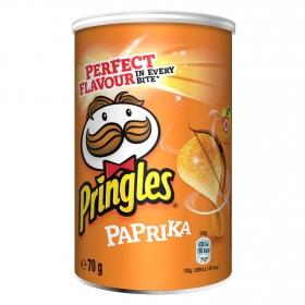 Aperitivo de patata sabor paprika Pringles 70 g.
