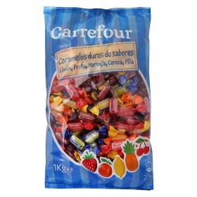 Caramelos de sabores Carrefour 1 kg.