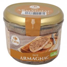 Paté al armagnac Carrefour 180 g.