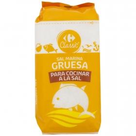 Sal marina para cocinar gruesa Carrefour 2,5 kg.
