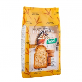 Pan integral dextrin con lino Santiveri 300 g.