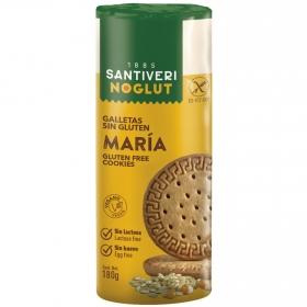 Galletas María Santiveri sin gluten y sin lactosa 190 g.