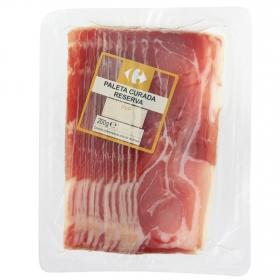 Loncha paleta curada Carrefour envase 200 g