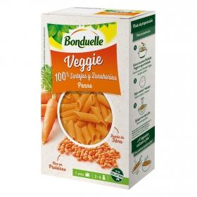 Penne de lentejas y zanahorias veggie Bonduelle 250 g.