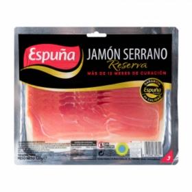 Jamón curado reserva en lonchas Espuña 120 g