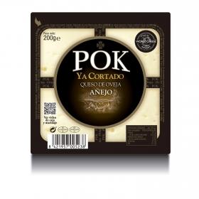 Queso Pok añejo curado ya cortado García Baquero cuña 200 g