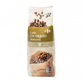 Café grano natural Carrefour 500 g.