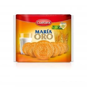 Galletas María Oro Cuétara pack de 3 unidades de 225 g.