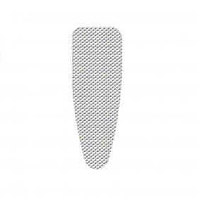 Funda de plancha de algodón y  aluminio  KLINDO 52 x 130 cm - Estampado