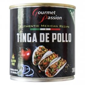 Tinga de pollo Gourmet Passion 300 g.
