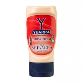 Mayonesa con sriracha picante suave Ybarra envase de 250 ml.