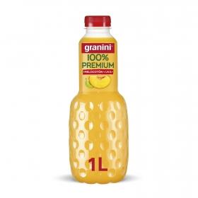 Zumo de melocotón y uva Granini botella 1 l.