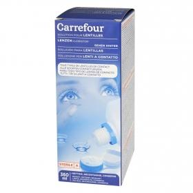 Líquido para lentes de contacto Solución Carrefour 360 ml.