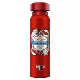 Desodorante spray para hombre Wholfthorn Old Spice 150 ml.