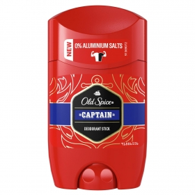 Desodorante stick para hombre Captain Old Spice 50 ml.