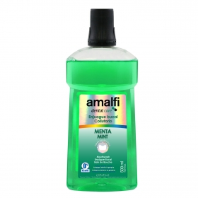 Enjuague bucal menta Amalfi 500 ml.