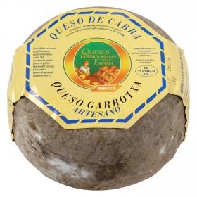 Queso semicurado de cabra madurado graso Garrotxa El Consorcio de Quesos pieza 1 Kg aprox