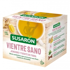 Infusión sabor limón en bolsitas Vientre Sano Susarón 10 ud.