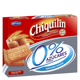 Galletas 0% azúcares añadidos Chiquilín 525 g.