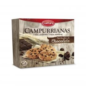 Galletas con pepitas de chocolate Cuétara 450 g.