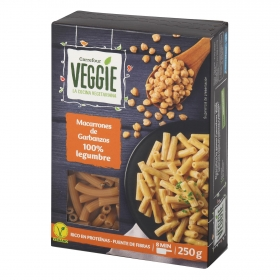 Macarrones de garbanzos Carrefour Veggie 250 g.