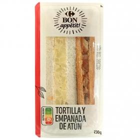 Sandwich de tortilla y empanada Lord Sandwiches 140 g.