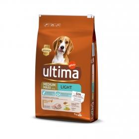 Pienso de pollo y arroz para perro adulto Medium Maxi Ultima 7Kg
