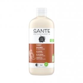 Gel de ducha familiar coco & vainilla ecológico Sante Naturkosmetik 500 ml.