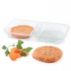Hamburguesas de pollo de corral sin gluten y sin lactosa Coren 2x125 g