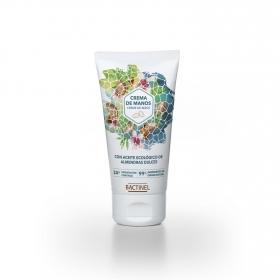 Crema de manos con aceite ecológico de almendras dulces Bactinel 50 ml.