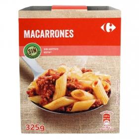 Macarrones boloñesa Carrefour 325 g.