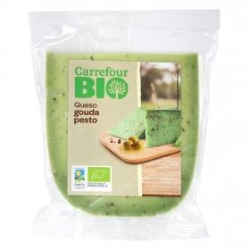 Queso gouda al pesto verde Carrefour Bio 250 g aprox