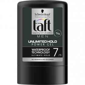 Gel fijador Unlimited Hold Schwarzkopf Taft 300 ml.