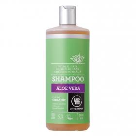 Champú de aloe vera para cabello normal ecológico Urtekram 500 ml.