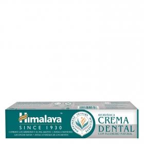 Crema dental con fluor natural Himalaya 100 g.