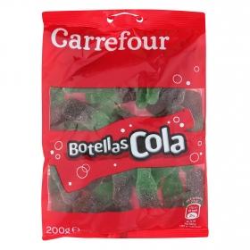 Caramelos de goma sabor coca cola Carrefour 200 g.