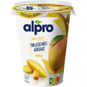 Preparado de soja sabor mango sin azúcar añadido Alpro 400 g.