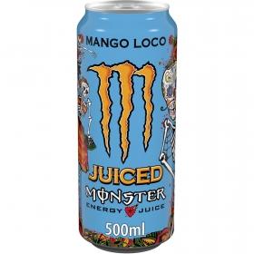 Bebida energética Monster Mango Loco 50 cl.