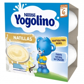Pack Yogolino Cuatro Natillas de Galleta 100 gr