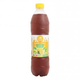 Refresco de té Carrefour sabor limón botella 1,5 l.