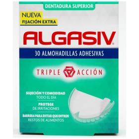 Almohadillas adhesivas para dentadura superior Algasiv 30 ud.