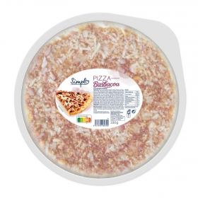 Pizza barbacoa 330 g.