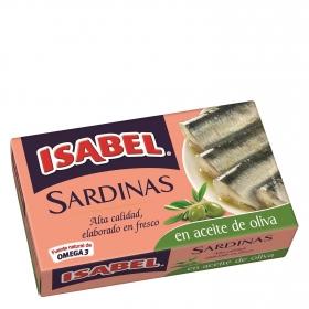 Sardinas en aceite de oliva Isabel 115 g.