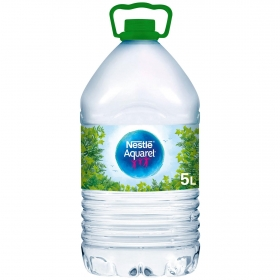 Agua mineral Aquarel natural 5 l.