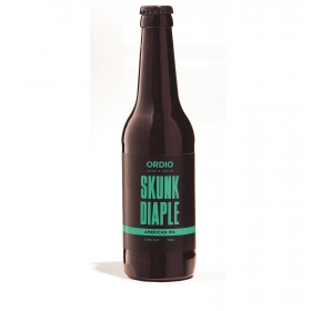 Cerveza artesana Ordio Minero Skunk Diaple IPA botella 33 cl.