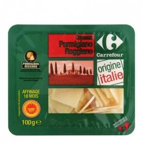 Queso Parmesano escama Carrefour 100 g.