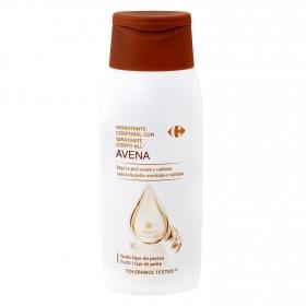Hidratante corporal con avena Carrefour 75 ml.