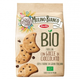 Galletas con pepitas de chocolate ecologícas Moulino Bianco 260 g.