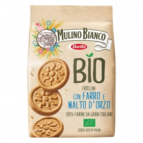 Galletas con espelta y cebada ecológicas Moulino Bianco 260 g.