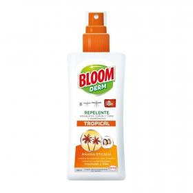 Repelente de mosquitos común y tigre spary Bloom Derm 100 ml.